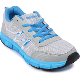 Action MenS Grey  Blue Lace Up Sports Shoes