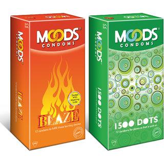 Blaze 12S + 1500 Dots 12S