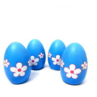 Cute Magic Hatching Grass Growing Eggs For Kids, Blue