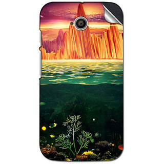 Instyler Mobile Skin Sticker For Moto E (2nd Gen)