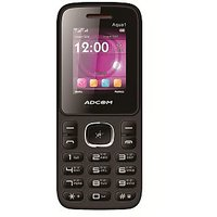 ADCOM 1 Dual Sim Mobile Phone-Black  Red