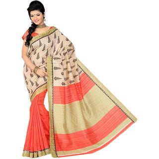 Sudev Bhagalpuri Silk Printed Saree(SF02)