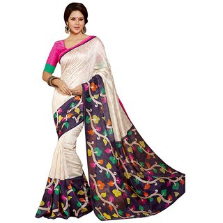 Sudev Bhagalpuri Silk Printed Saree(SF04)