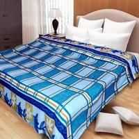 Handloomdaddy Super Soft And Stylish AC Blankets-Blue
