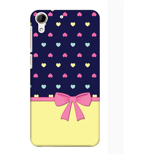 Pick Pattern Back Cover for HTC Desire 728 (MATTE)
