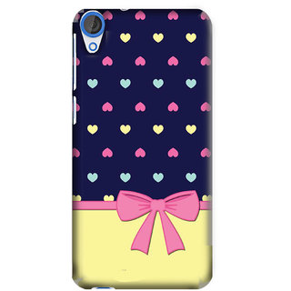 Pick Pattern Back Cover for HTC Desire 820 (MATTE)