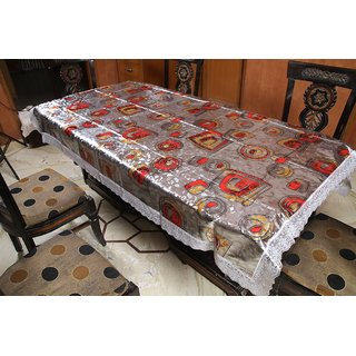 Freely Print Dining Table Cover For 6 Seaters (RE-602A)