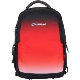 Harissons Inferno Big Red Polyester Backpack