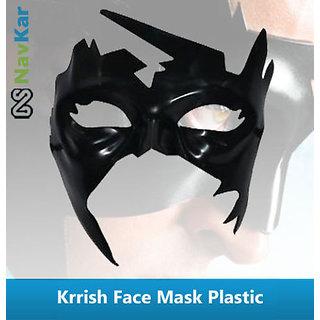 Superhero Krrish Face Mask  Hard Plastic Simba Krrish Face Mask