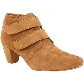 Exotique Womens Tan Casual Boot(EL0031BG)
