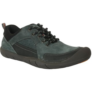 Action-Nobility MenS Grey Lace-Up Shoes