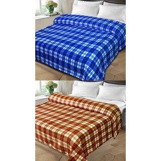 Meet Creative set of 2 double bed blanket(MC-007)