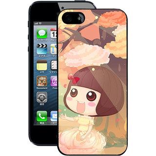 Instyler Digital Printed Back Cover For Apple I Phone 4S IP4SDS-10358