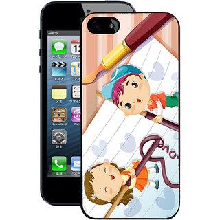 Instyler Digital Printed Back Cover For Apple I Phone 4S IP4SDS-10429