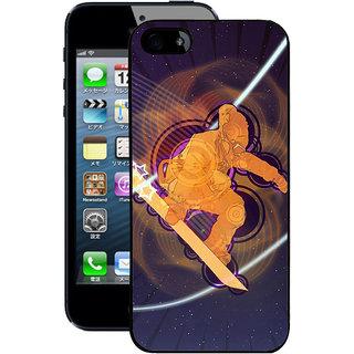 Instyler Digital Printed Back Cover For Apple I Phone 5S IP5SDS-10443