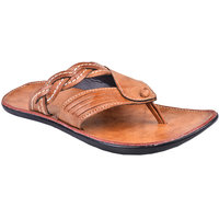 Cool River MenS Tan Slip On Sandals