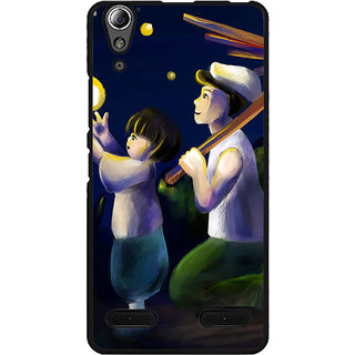 instyler Digital Printed Back Cover For Lenovo A6000 Plus LENA6000PDS-10351