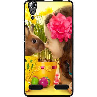 instyler Digital Printed Back Cover For Lenovo A6000 LENA6000DS-10367