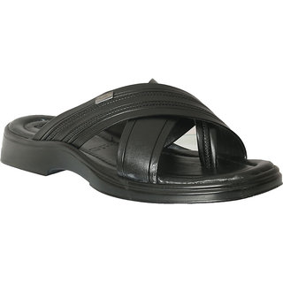 Action Shoe MenS Black Casual Slip On Sandals