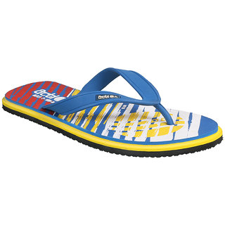 Action Shoe MenS Blue Flip Flops