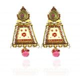 Sparkling Beautiful Enamel Earring Er-8
