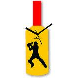 Cricket Master Blaster Style Multi-Colour Wall Clock