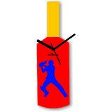 Cricket Master Blaster Style Multi-Colour Wall Clock Design 1