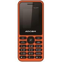 ADCOM 101 Dual Sim Mobile Phone Black  Orange