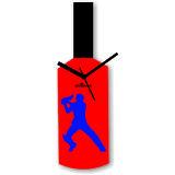 Cricket Master Blaster Style Multi-Colour Wall Clock Design 7