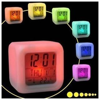 7 Colour Changing Digital Alarm Clock