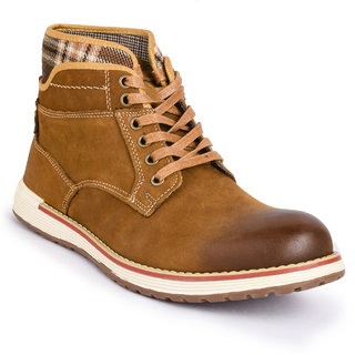 Action- Nobility MenS Brown Casuals Lace-Up Shoes