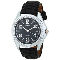 Oura-BLKS-270 Black Dial Round Classic Casual Wear Watch For Men