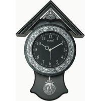 Sonic Black Pendulum Wall Clock