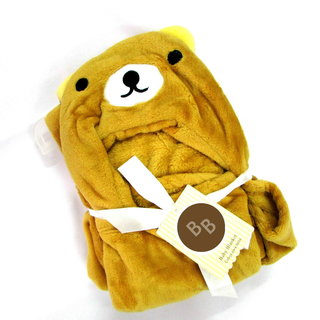 Light Brown Teddy Baby Blankets