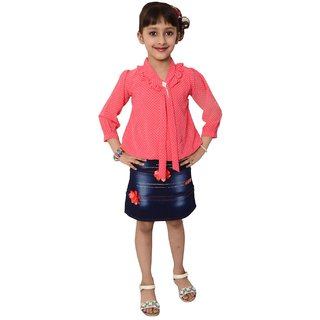 Kids dresses baby clothing Girls midi