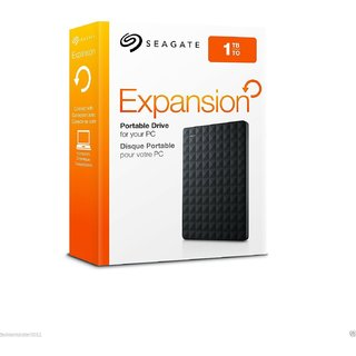 Seagate 1Tb Usb external hard disk Image