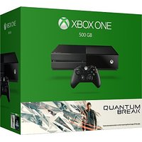 Microsoft Xbox One 500 GB with Quantum Break