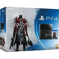 Sony PlayStation 4 (PS4) 500 GB with Bloodborne Bundle