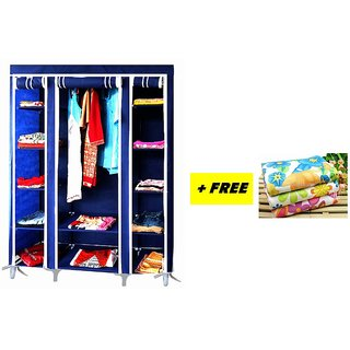 FREE 1 PIECE TOWEL with FOLDING WARDROBE A-1 ALMIRAH