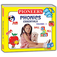 PIONEERS - PHONICS ESSENTIAL VOL  1  Age - 5-7yrs Kids Educational CD For Phonics