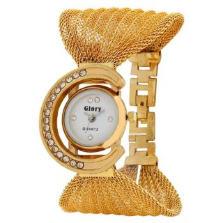 Golden Fancy Ladies Watch