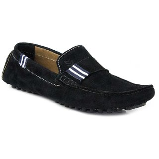 SATMARC Wesley Black Men Loafers