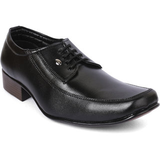 Action-Dotcom MenS Black Formal Lace-Up Shoes