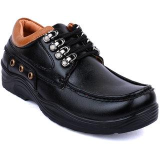 Action-Dotcom MenS Black Casual Outdoor Shoe