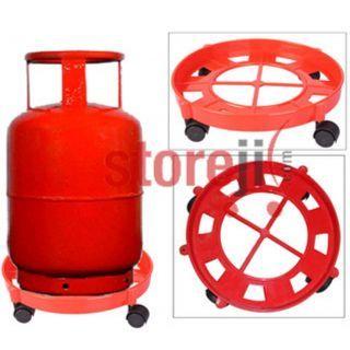 LPG Gas Cylinder Trolley for All Cyllinders: Buy LPG Gas ...