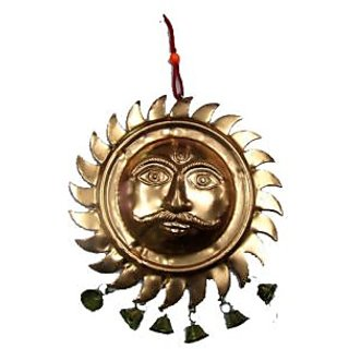 Figurines of lord Surya Hanging Face For wealth and Prosperity