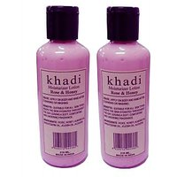 Khadi Moisturizer Lotion Rose Honey- Twin pack 420ml