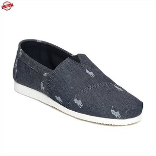 Ziera Nayv Blue Polo Slipon Shoes.