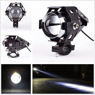 Bikers World U5 15w Projector Lens White Bike Motorcycle Hid Cree Led Driving Lights Daytime Fog Lamp Drl For Bajaj Pulsar 220 Ns