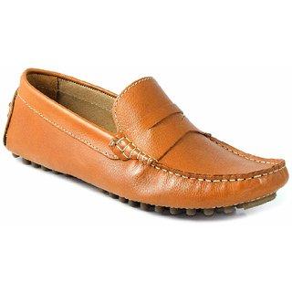 SATMARC Bear Tan Men Loafers